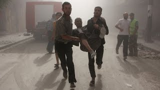 Syria: living under the horrors of barrel bombs in Aleppo (2015)