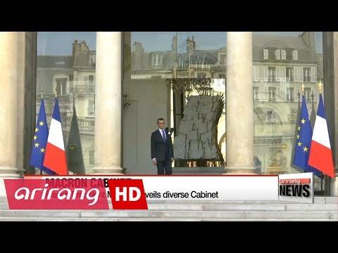 Macron unveils diverse Cabinet