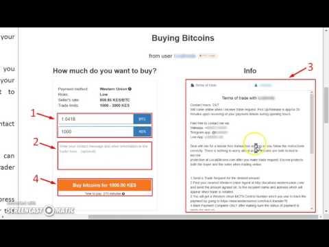How To Buy Bitcoins In Localbitcoins.com - Kenya