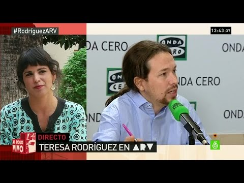 "Teresa Rodríguez: ""Yo he cobrado en negro y he pagado en negro evidentemente"""