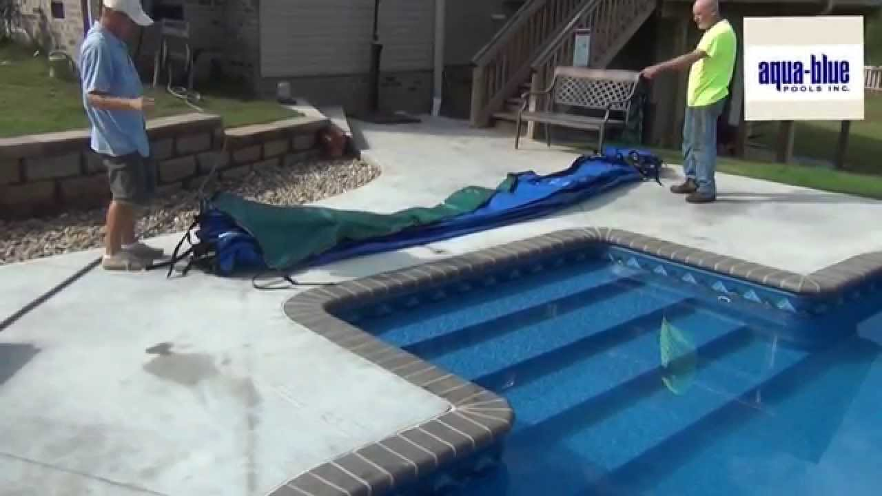Winterize An Inground Pool Install A Safety Cover Youtube