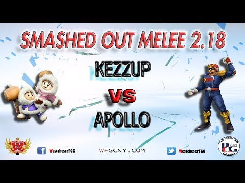 Smashed Out Melee V2.18 - Kezzup Vs. Apollo - Winners Semi-Finals