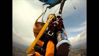 Skok ze spadochronem – Przasnysz video
