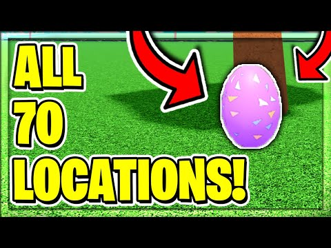 ALL *70* EGG LOCATIONS In Roblox Car Dealership Tycoon! Egg Hunt Event!