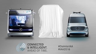 Daimler Press Conference at IAA Commercial Vehicles
