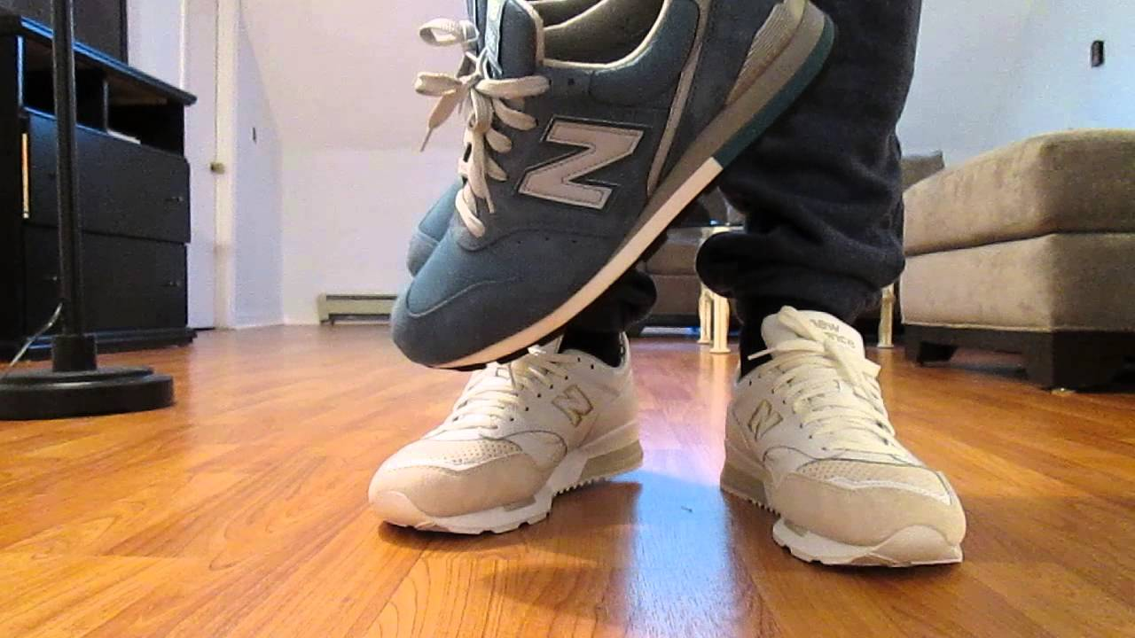 new balance 996 on feet
