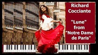 Нотр Дам де Пари на пианино Richard Cocciante — Lune (Notre Dame de Paris)(Красивая мелодия на пианино Richard Cocciante — Lune (Notre Dame de Paris) Риккардо Винсент Коччанте - Lune Из мюзикла