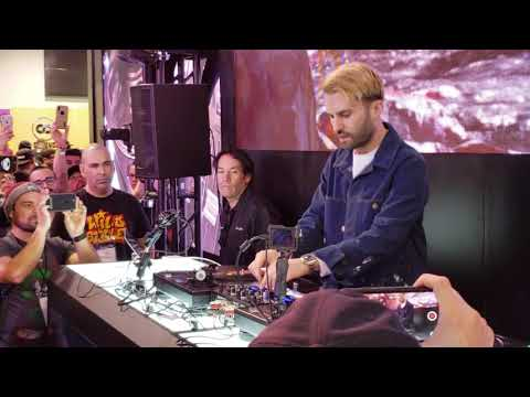 A-TRAK AT NAMM 2019 PIONEER DJ BOOTH