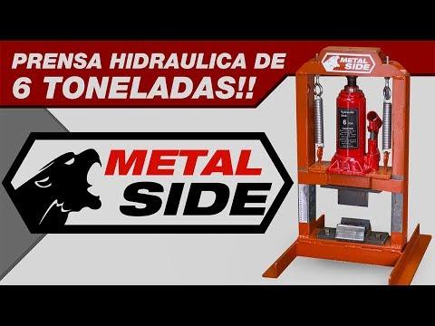 Como hacer una prensa Hidráulica de 6 toneladas!! - Hidraulic press DIY