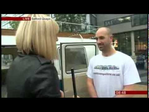 BBC Breakfast - End of production of the vw type 2 camper van