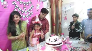 Happy Birthday | Cake Cutting | Anishka's 5th birthday Bash