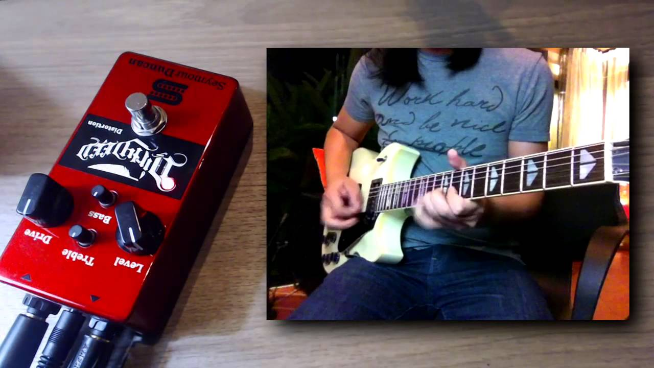 Introducing The Dirty Deed Distortion Pedal | Seymour Duncan