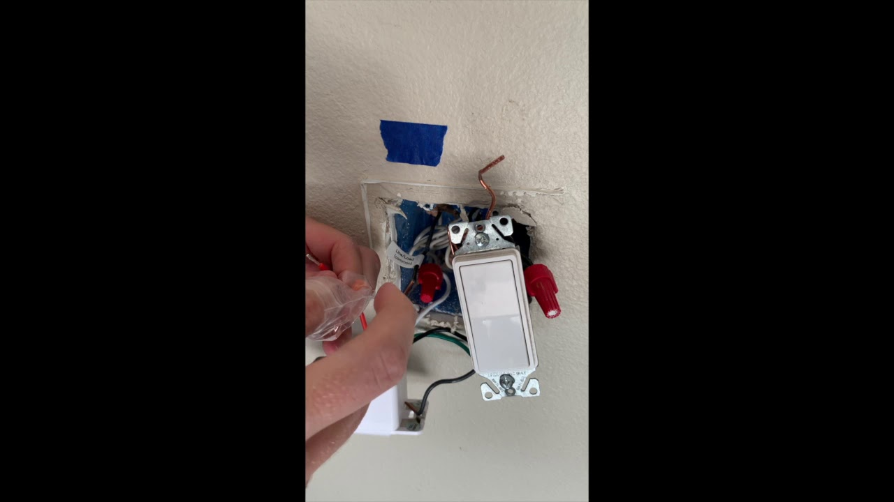 How To Install Single Pole Smart Light Switch By Treatlife