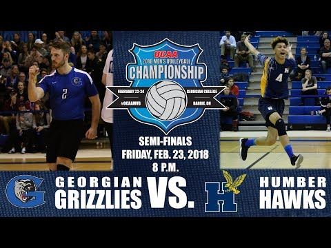 Game Eight - 2018 OCAA Men's Volleyball Championship - Semi-Final - Georgian vs. Humber