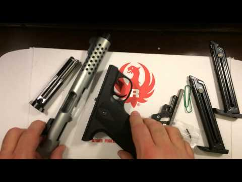 Ruger 22/45 Lite disassembly and reassembly