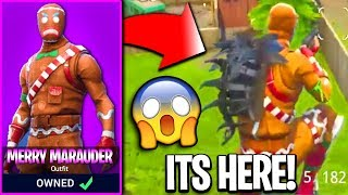 MERRY MARAUDER SKIN COMING BACK TO FORTNITE! Fortnite Merry Marauder Skin Returning! (CONFIRMED)