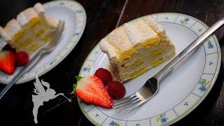 Kardinalschnitten - Klassische Kardinalschnitten - Weinbrand-Café-Sahne - Kuchenfee