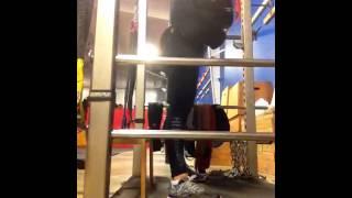BW squats 12…