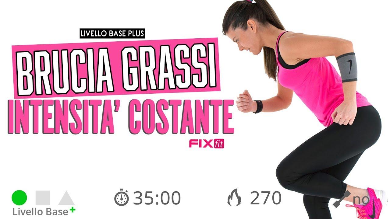 Ginnastica Brucia Grassi Video