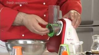 Moulinex Fresh Express, retete Horia Virlan (Salata Fatoush cu legume proaspete)
