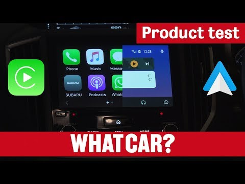 Apple CarPlay vs Android Auto | What Car? Product Test