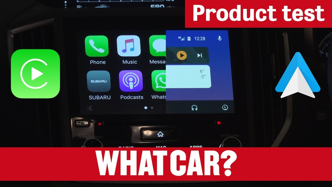apple carplay vs android auto what car product test youtube. Black Bedroom Furniture Sets. Home Design Ideas