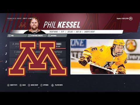 HOW GOOD IS A TEAM OF MINNESOTA GOPHERS ALUMNI? - NHL 19