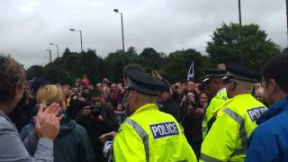 Andy Murray's Dunblane homecoming 2012