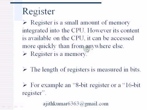 Microprocessor-Part1(Inside)-Tamil tutorial