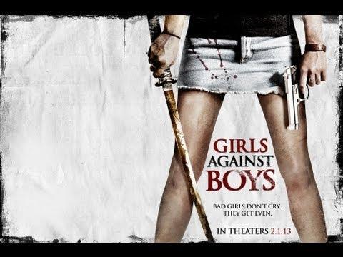 Thriller - GIRLS AGAINST BOYS - TRAILER   Danielle Panabaker, Nicole LaLiberte, Andrew Howard