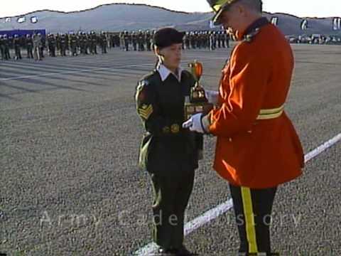 Vernon Army Cadet Camp 1994 documentary pt 7/10