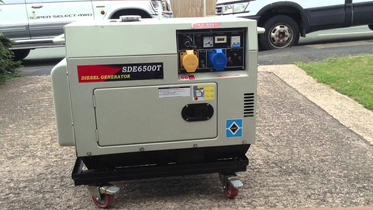 Suntom Generator 5 5kva demonstration