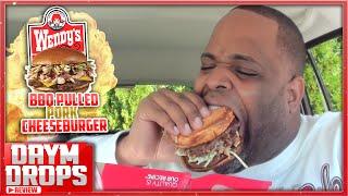 Wendy's BBQ Pulled Pork Cheeseburger & CheeseFries