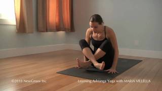 Repeat youtube video Ashtanga Yoga Jump Back and Jump Through: Maria Villella