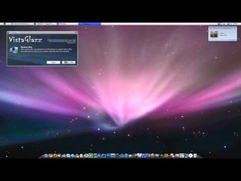 Make Your Windows Vista Look Like Mac OS X | Part 1/2