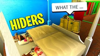 YOUTUBER ONLY HIDE AND SEEK! (Roblox Bloxburg)