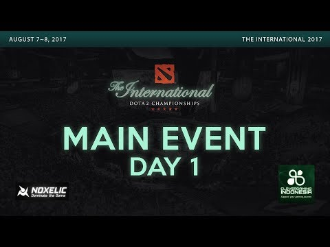 live dota 2 the international 2017 main event day 1 part 1