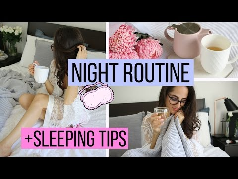 MY NIGHT ROUTINE | Tips For When You Can't Sleep!