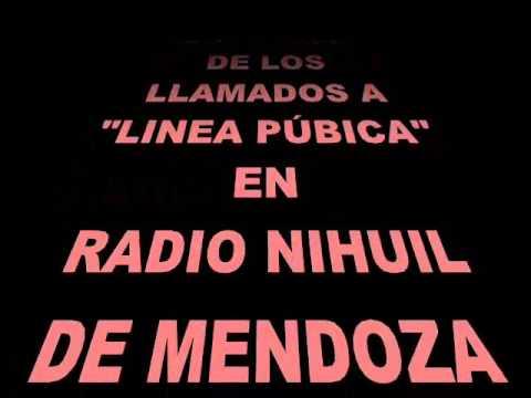 Llamadas telefonicas 6 a Lineas Pubicas de Radio Nihuil - Rodrigo Galdeano