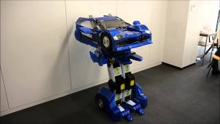 Robot biến hình như Transformer của các kỹ sư nhật bản