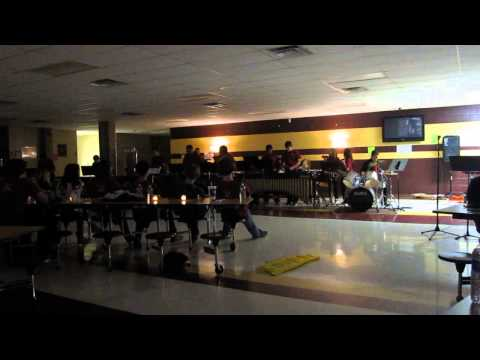 """Ritmo Suave"" Riverdale High School Percussion 2013"