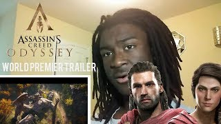 Reaction to Assassins Creed Odyssey Trailer  Best Reaction