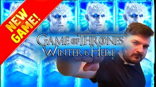 💥💥💥FIRST TO YOUTUBE! 💥💥💥NEW GAME! 💥💥💥 Game of Thrones Winter is Here Slot Machine 💥💥💥