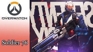 Cùng chơi Overwatch - Soldier 76 Chiến binh thép