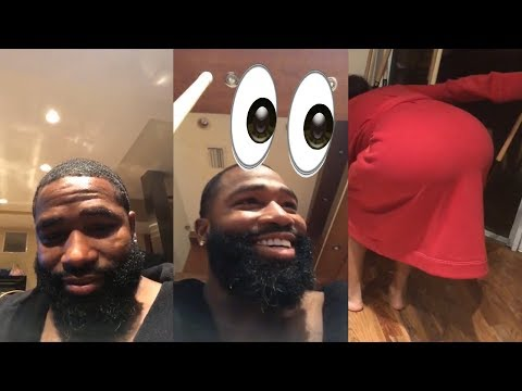 Adrien Broner Plays Pool With His Wife + Talks Boxing  On Instagram Live | August 23rd, 2018