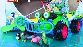 Disney Pixar Toy Story 3 Woody and Buzz LightYear Radio Controlled Car Toy - Kids