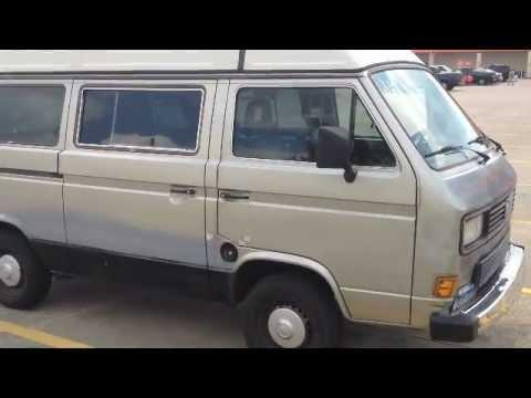 87 VW Vanagon Camper for sale on ebay - SOLD