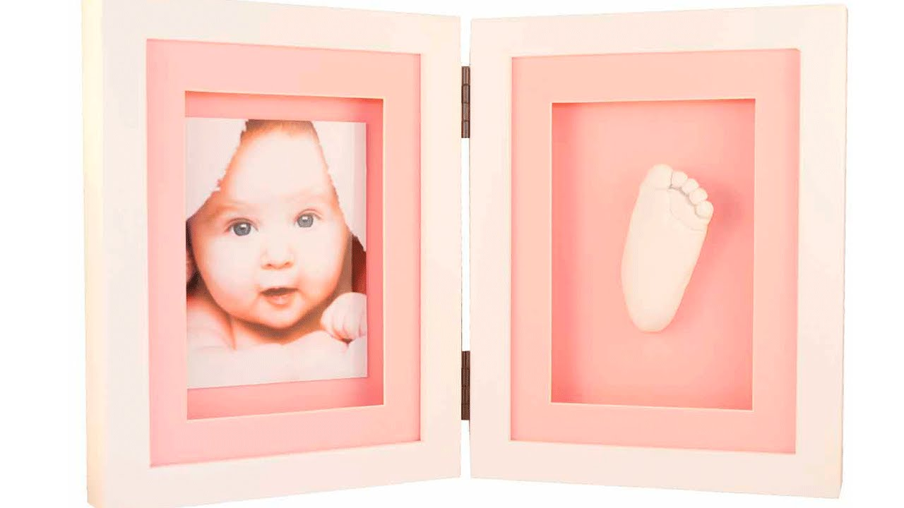 Como hacer Las huellas de tu bebe en 3D - YouTube