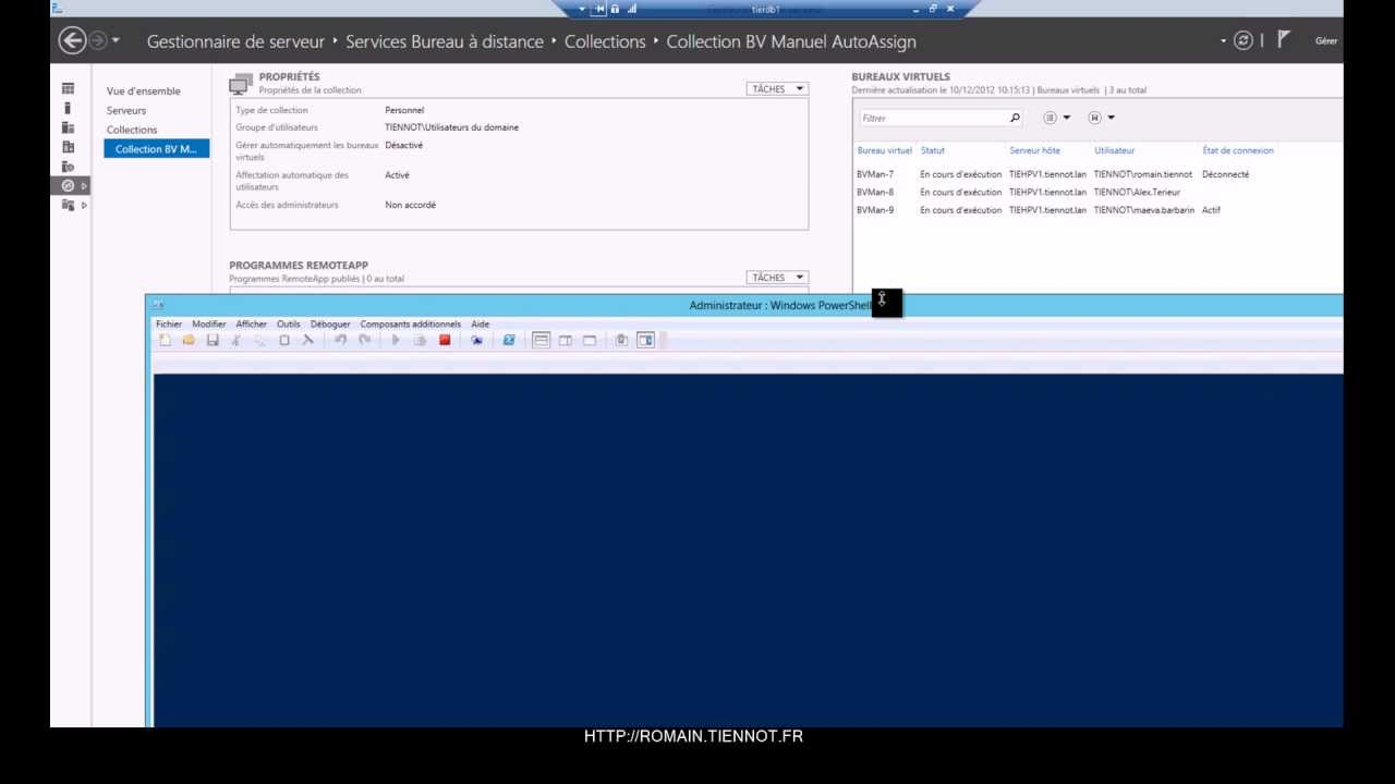 Windows Server 2012 Virtual Desktop Infrastructure Collection