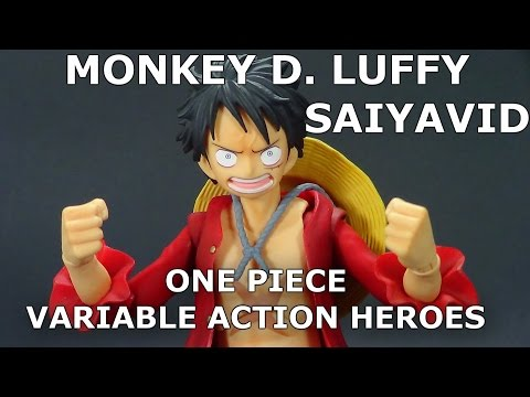 Monkey D Luffy One Piece Variable Action Heroes Megahouse Review en Español